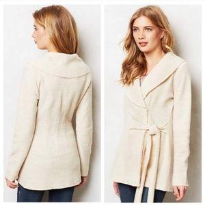 Anthropologie Rosie Neira warm sweater coat