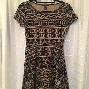 Aztec cotton dress from Forever 21