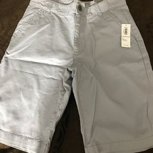 Grey boy shorts