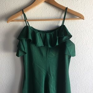 Swingin' Emerald Dress