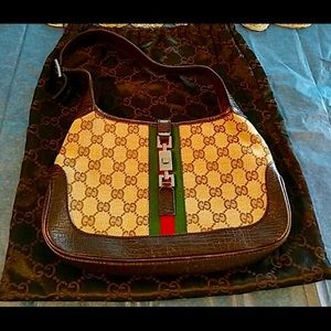 Authentic Gucci Jackie O small purse