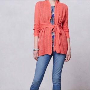 ANTHROPLOGIE KNITTED&KNOTTED  Long cardigan