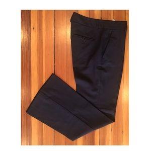 Theory | dress pants in super dark brown