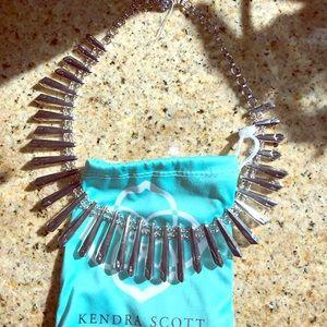 Kendra Scott Jill necklace silver