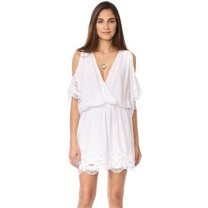 young fabulous broke • white colette eyelet dress