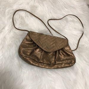 Gold Crossbody shoulder bag