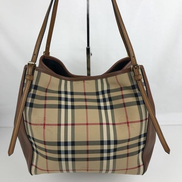 b2be16e485f1 Burberry Handbags - Burberry Horseferry Small Canterbury Tote