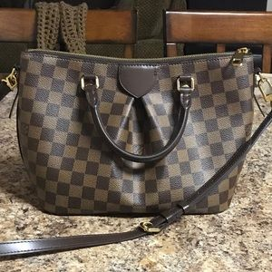 Louis Vuitton Siena Damier handbag