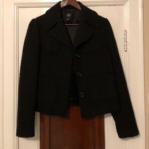 Gap Black Wool Jacket