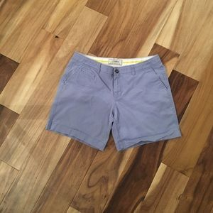 "Old Navy 7"" blue shorts"