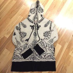 Anthropologie sleeping on snow medium sweater