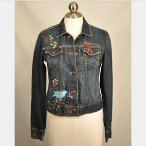 GAP embroidery jean jacket