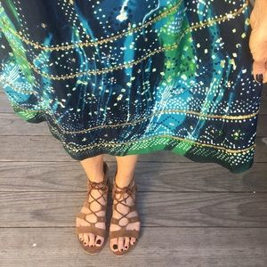 Gorgeous Sequined Circle Skirt, Vintage