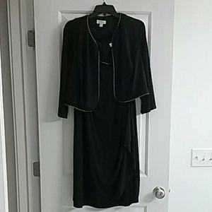 Fashion Bug black sparkly cocktail dress  20W