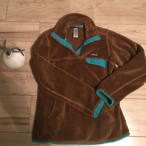 Patagonia re-tool snap fleece pullover xs