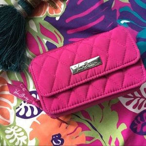 VERA BRADLEY mini purse, wallet with strap