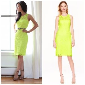 J.Crew Collection Lace Sheath Dress 00 A8182