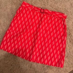 Banana republic patterned skirt