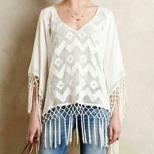 ❤Anthropologie Pancho Top❤