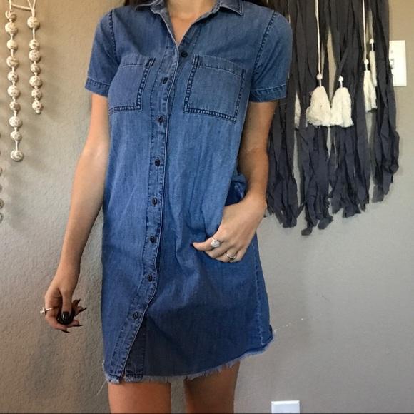 ac81013db6 Madewell Dresses   Skirts - Madewell denim button up dress