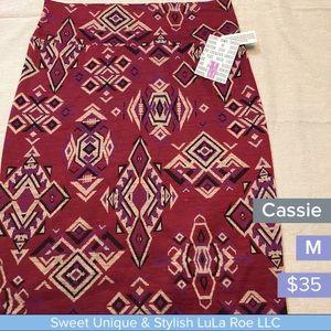 LuLaRoe Skirts - LuLa Roe Cassie pencil skirt
