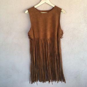 Vintage Leather Top- Coachella Ready!