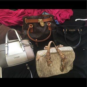 Michael Kors handbags and Watch.