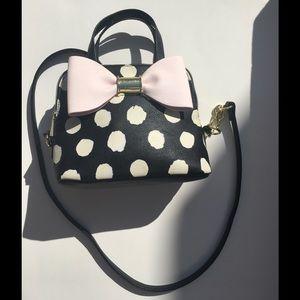 Betsey Johnson Mini Dome Polka Dot Handbag