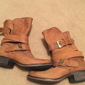 Steve Madden motorcycle boots - Sz 7&1/2