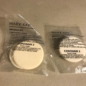 Mary Kay sponges set of 2