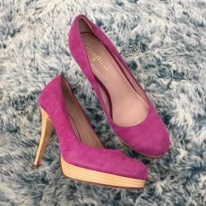 Cole Haan pink high heel pumps
