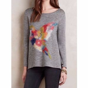 Anthropologie Fly Away Sweater by Troubadour NWT