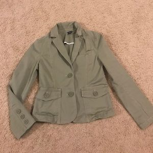 Gap Green Khaki Jacket Blazer