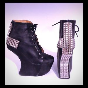 Jeffrey Campbell Holy Studded Cross Boots