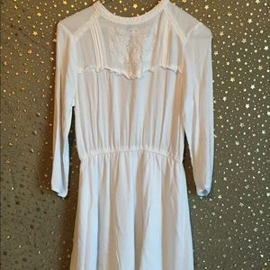 White Baby Doll Styled Dress