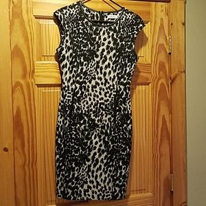 Calvin Klein Print Dress