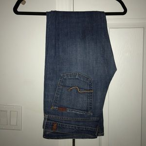 Vintage Seven for All Mankind Bootcut Jeans