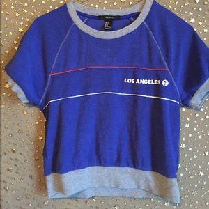 Forever 21 Blue LA Tee