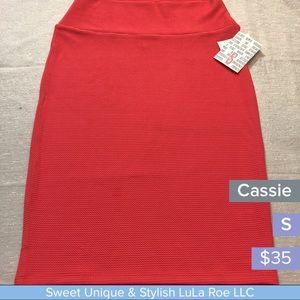 LuLa Roe Cassie pencil skirt
