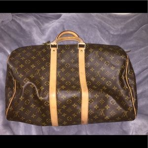 100% Authentic Louis Vuitton Keepall 45 weekend