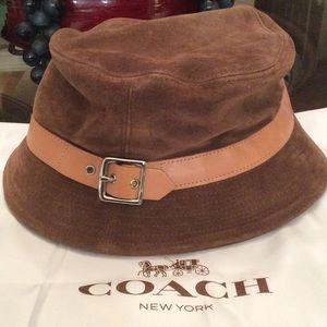 Coach Suede Hat
