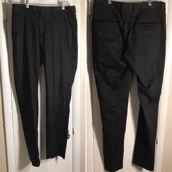 337c0a6a Zara Men Dress Pants Slacks Black Slim Fit 32. M_59ee7eafbcd4a747340f789b