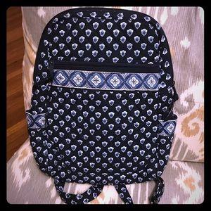 Vera Bradley Navy Backpack