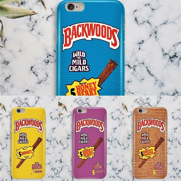 official photos 35255 5808a Backwoods Cigar Roll Up Flavors iPhone 5 6 7 8 X