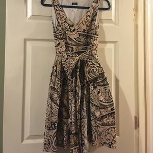 Paisley J. Crew Dress with Pockets!