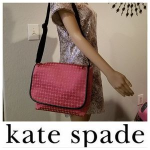 Adorable KATE SPADE NOEL Messenger Diaper bag.
