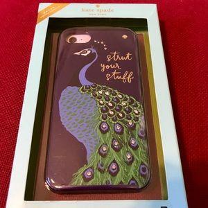 Kate Spade  Peacock Cell Phone Case