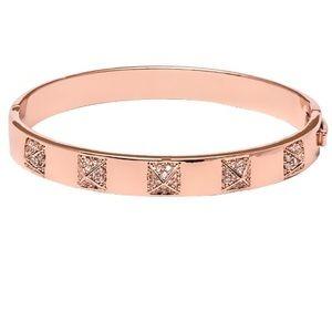 BNWT Rose Gold Bracelet w/ Swarovski Crystals