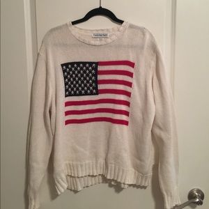 vintage oversized USA sweater