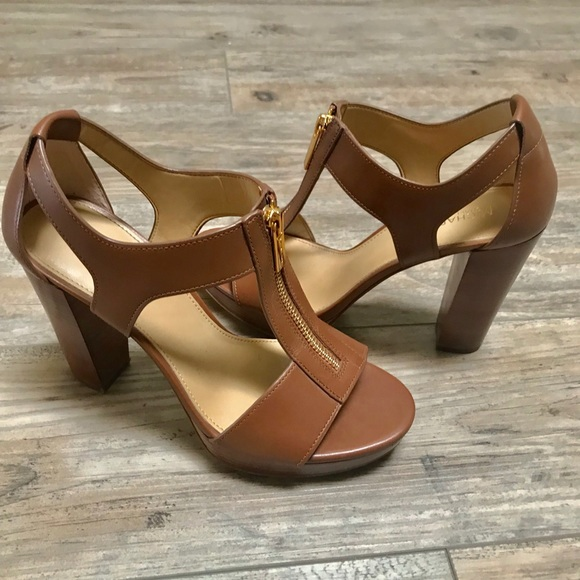 526594975a4c Michael Kors Berkley T-Strap Platform Dress Sandal.  M 59ee8132d14d7be4ae0f60ce
